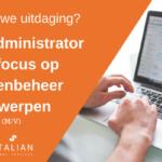 Office Admin focus KL Antwerpen ATALIAN