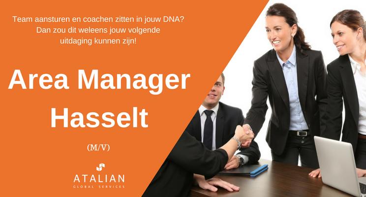 ATALIAN Area Manager Hasselt