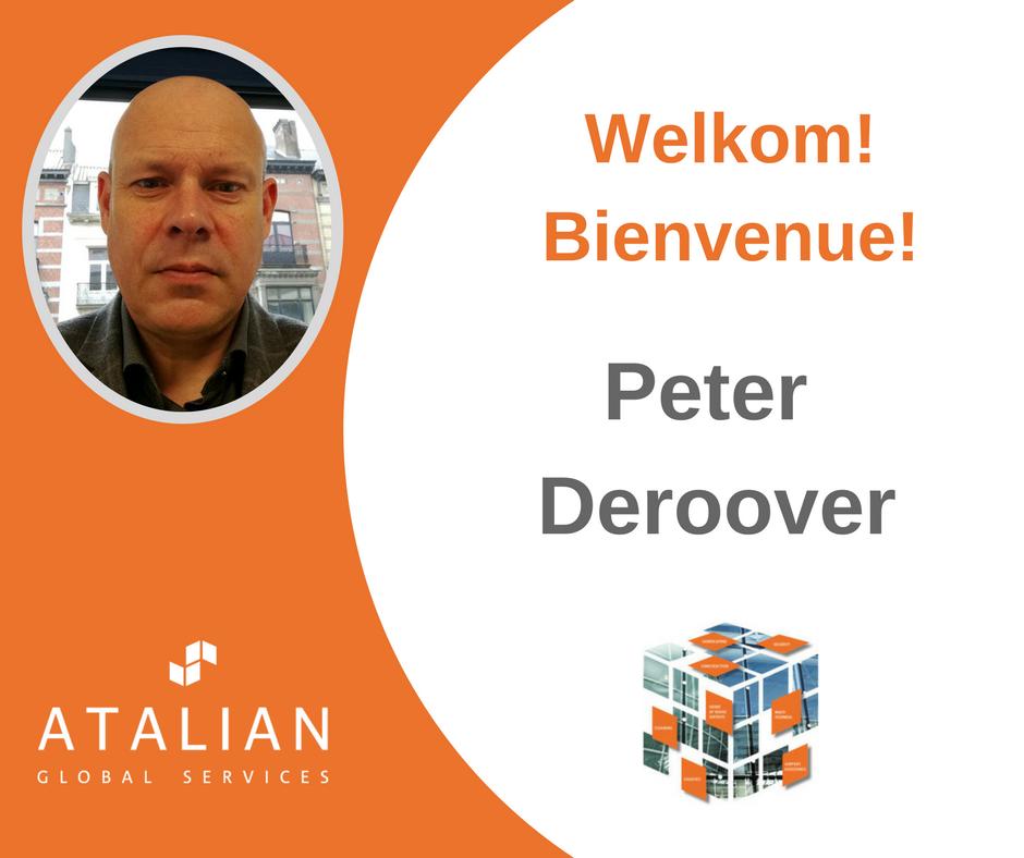 Peter Deroover Bienvenue @ ATALIAN!