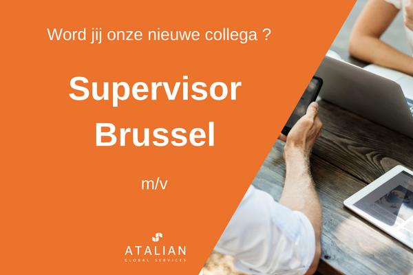 Supervisor ATALIAN Brussel
