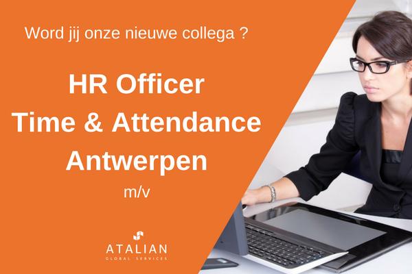 ATALIAN HR Officer T&A Antwerpen