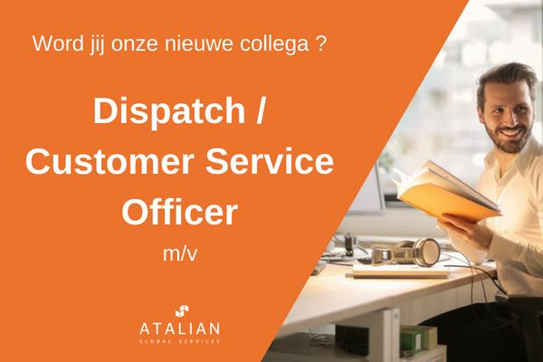 ATALIAN Dispatch Customer Service Officer