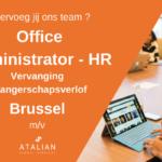 Office Admin HR BXL NL