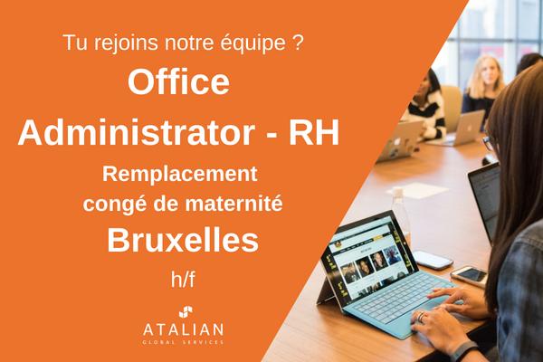 Office Admin HR BXL fr