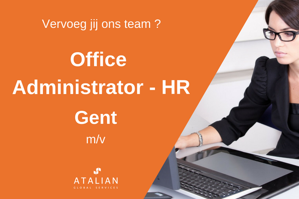 Office Administrator - HR Gent