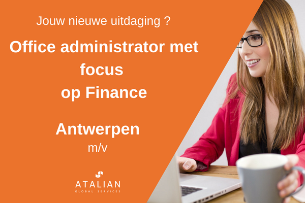 Office Admin focus finance Antwerpen