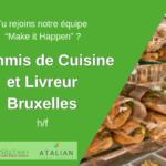 Commis de cuisine - livreur Green Kitchen