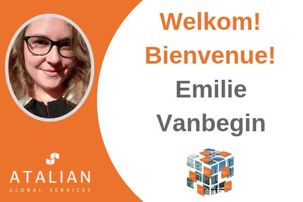 Welcome Emilie Vanbegin!