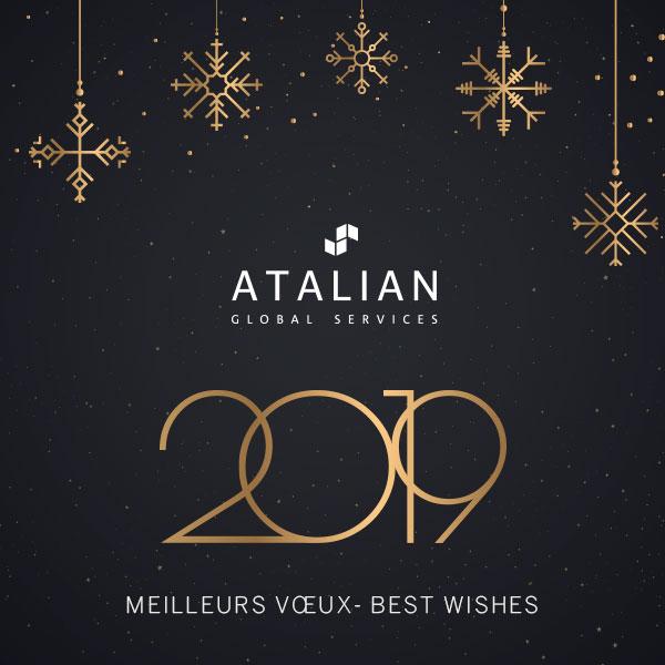 ATALIAN Belgium season's greetings 2019