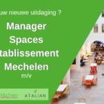 SPACES Manager Green Kitchen Mechelen