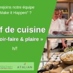 Chef de cuisine (m_v) Green Kitchen - Evere