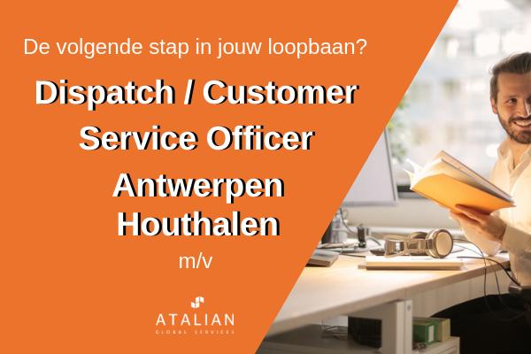 Dispatch/Customer Service Officer (M/V)