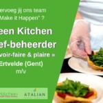 Chef beheerder (m_v) Green Kitchen - Ertvelde