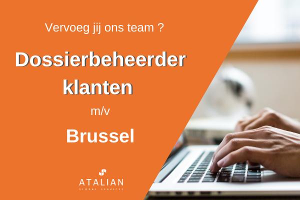 Dossierbeheerder klanten BXL NL