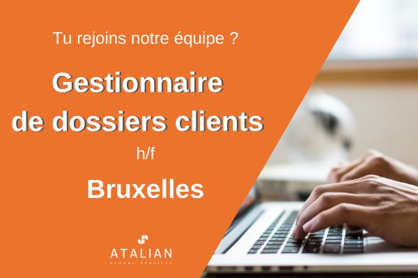 Gestionnaire de dossiers clients BXL fr