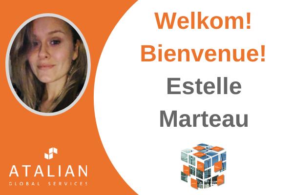 Welcome Estelle Marteau