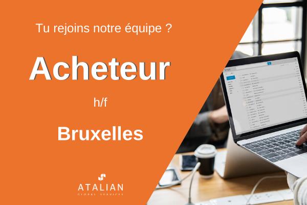 Acheteur h/f Bruxelles